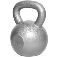 Kettlebell 28 kg Gietijzer Grijs (extra stabiel)