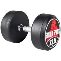 Dumbell 22,5 kg (Gietijzer met rubberen coating)