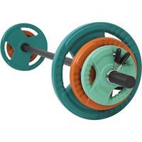 Aerobic Halterset 20 kg - Gripper Gietijzer