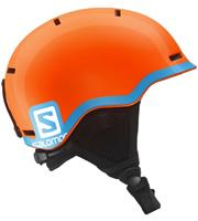 Salomon Grom fluo orangeblue junior helm