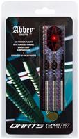 Abbey Darts dartpijlenset steeltip 85% tungsten zilver 24 gram