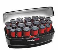 Babyliss PRO Krulset 20 - 20 rollers zacht fluwelen bekleden zwart 300W