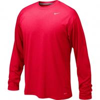 Nike Youth Legend Boy's Long-Sleeve T-Shirt Red