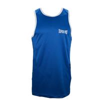 Super Pro bokssinglet Combat Gear Club heren blauw