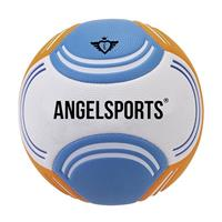 Angel Sports soft touch beachvoetbal maat 5 blauw/oranje