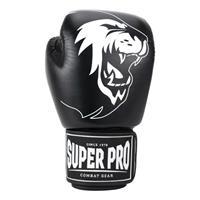 Super Pro - Combat Gear Warrior Lederen (kick)bokshandschoen
