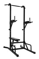 virtufit Power Tower Deluxe met Fitnessbank