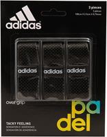 adidas Set Overgrip 3 St. Zwart