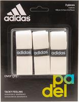 adidas Set Overgrip 3 St. Wit