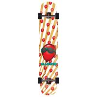 """Madrid Flash Mirage 46"""" 99 Red Balloons Bamboo - Longboard Complete"""