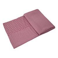 Tunturi Siliconen Yoga Handdoek - 183 x 67 cm - Roze