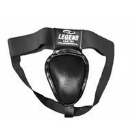 Legend Sports kruisbeschermer/tok Pro Line staal heren zwart
