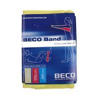 Beco weerstandsband geel licht 150 cm