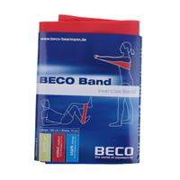 Beco weerstandsband rood medium 150 cm