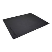 Tunturi mat en vloerbeschermer voor stoelfiets 64 x 52 cm zwart
