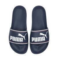 Puma Leadcat badslippers donkerblauw/wit
