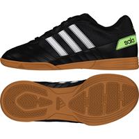 Super Sala Zaalvoetbalschoenen (IN) Kids Zwart Wit Groen