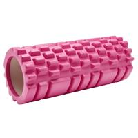 Fit Essentials foamroller massage 33 x 14 cm roze