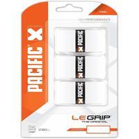 Pacific overgrip Le Grip 0,50 mm 3 stuks wit