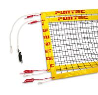 Funtec Pro Beach volleybalnet 8,5m/9,5m vaste opstelling