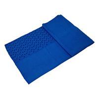 Tunturi handdoek anti slip 180 x 63 cm blauw