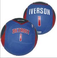 Spalding Basketbal NBA Allen Iverson Detroit Pistons