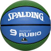 Spalding Basketbal NBA Ricky Rubio Groen/Blauw