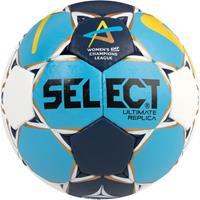 Select handbal Ultimate Replica CL Women 2018 2019 wit blauw geel