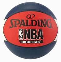Spalding NBA Highlight Outdoor Basketbal Rood/Blauw