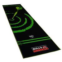 Bull's dartmat '140' zwart/groen 280 cm