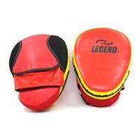 Legend Sports stootkussens comfort rood/geel