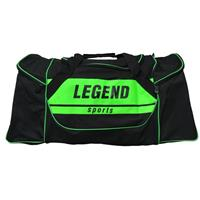 Legend Sports sporttas Legend zwart/groen unisex 60 x 33 cm