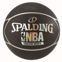 Spalding NBA Highlight Outdoor Basketbal Black/Silver