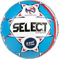 Select Handbal Ultimate EC 2020 Blauw wit maat 2