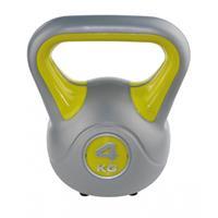 Sveltus kettlebell fit geel/grijs 4 kg