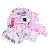 Tempish baby skate set kitty roze/wit maat:30 33