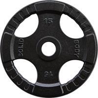 Body-Solid Olympische Gietijzeren Halterschijf - 15 kg