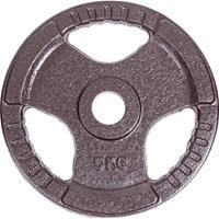 Sport-Thieme Gietijzeren Wedstrijdhalterschijven, 5 kg