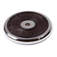 Sport-Thieme Halterschijf van chroom, 5 kg