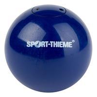 Sport-Thieme Wedstrijd-Stootkogel Staal, 2 kg, blauw, ø 80 mm