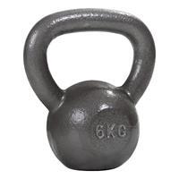 Sport-Thieme Kettlebell Hamerslag, geschilderd, grijs, 6 kg