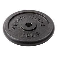 Sport-Thieme Gietijzeren Halterschijf, 10 kg
