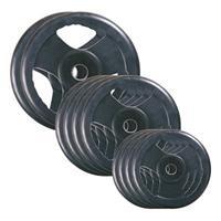 Sport-Thieme Rubberen wedstrijd gewichtsschijven set, 50 kg