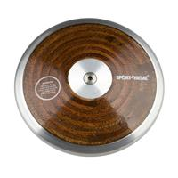 Sport-Thieme Wedstrijd-Discus Hout, 0,75 kg