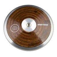 Sport-Thieme Wedstrijd-Discus Hout, 1 kg