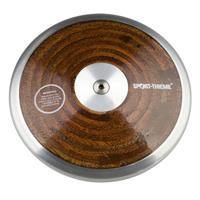 Sport-Thieme Wedstrijd-Discus Hout, 1,5 kg