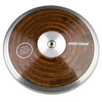 Sport-Thieme Wedstrijd-Discus Hout, 1,75 kg