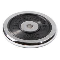 Sport-Thieme Halterschijf van chroom, 10 kg