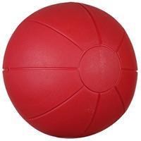 Togu Medicinebal uit rubber, 1 kg, ø 21 cm, rood