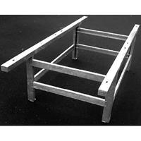 Onderstel voor tafeltennistafel Standard